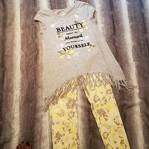 Girls Justice outfit size 10